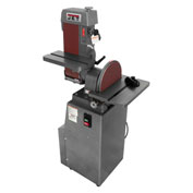 Jet 414551 J-4200A Industrial Combo Belt & Disc Finishing Machine, 115V, 1-Phase