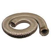 "JET 414715 8' Long 4"" Diameter 180° Capacity Heat Resistant Hose"