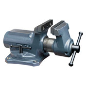 "Wilton 63248 Model SBV-100 4"" Jaw Width 2-1/4"" Opening 2"" Throat Super-Junior Vise W/ Swivel Base"