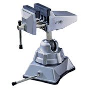 "Wilton 63500 Model 3VB 2-3/4"" Jaw Width 2-1/2"" Opening Vacuum Base Vise W/ Swivel Base"