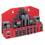 "JET® 52-pc Clamping Kit w/ Tray for 1/2"" T-slot"