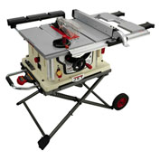 "JET 707000 Model JBTS-10MJS 10"" Jobsite Table Saw W/ Stand"
