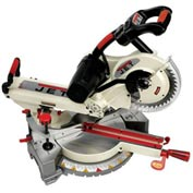 "JET 707111 Aluminum Retractable Extension Wings for 10"" Dual Bevel Sliding Compound Miter Saw"
