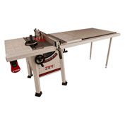 "JET 708493K Model JPS-10TS 10"" Proshop Cabinet Saw W/ 52"" Fence, Steel Wings & Riving Knife"