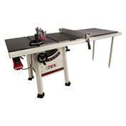 "JET 708495K Model JPS-10TS 10"" Proshop Cabinet Saw W/ 52"" Fence, Cast Iron Wings & Riving Knife"