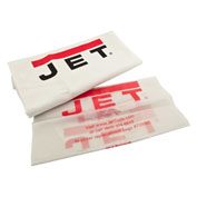 JET 708636MF 5-Micron Filter & Collection Bag Kit for DC-1100VX or DC-1200VX Dust Collector - Pkg Qty 3