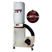 JET 708658K Model DC-1100VX-5M 1.5HP 1-Phase 115/230V 5-Micron Dust Collector W/ Bag Filter Kit
