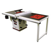 "JET 708679PK 5HP 1-Phase Deluxe Xacta® Table Saw 50"" Rip W/ Downdraft Table & Leg Set"