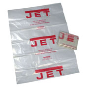 "JET 709563 Model CB-5 20"" Dia. Clear Plastic Bags(5) for DC-1100VX & DC-1200VX Dust Collectors"