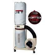 JET 710701K Model DC-1200VX-BK1 2HP 1-Phase 230V Dust Collector W/ 30-Micron Bag Filter Kit