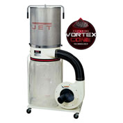 JET 710704K Model DC-1200VX-CK3 2HP 3-Phase 230/460V Dust Collector W/ 2-Micron Canister Kit