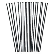 "JET N307, 19-Piece, 3mm X 7"" Replacement Needles - Pkg Qty 9"
