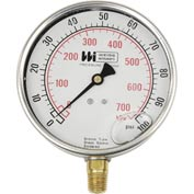 "4"" dial , liquid filled, 1/4"" bottom, 0-160PSI"