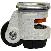 WMI® Leveling Caster WGD-40F - 110 Lb. Load Rating - Plate Mounted