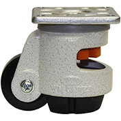 WMI® Leveling Caster WGD-60F - 550 Lb. Load Rating - Plate Mounted