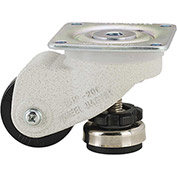 WMI® Caster and Leveler in One Unit WMP-200FS - 440 Lb. Load Rating - Plate Mounted