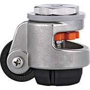 WMI® Stainless Steel Leveling Caster WMSPIN-60S - 1100 Lb. Load Rating - Stem Mounted