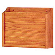 HIPPAA Compliant Chart Holder - Medium Oak