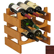 "9 Bottle Dakota™ Wine Rack, Mahogany, 14-1/2""H"