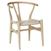 Fine Mod Imports Woodstring Dining Chair, Walnut