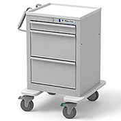 Waterloo Short & Slim 3 Drawer Economy Cart ESGKU-399-LTG