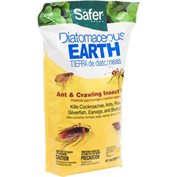 Safer® Brand Diatomaceous Earth - Bed Bug, Flea, Ant, Crawling Insect Killer, 4 Lb. 51703