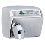 World Dryer Automatic Hand Dryer 115V, Brushed SS DXA5-973
