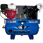 Eagle Gasoline Truck Mount Compressor 9G30TRKE, 9HP, 30 Gal, 18 CFM @ 100 PSI