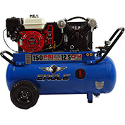 Eagle Gasoline Portable Compressor P55GE25H1, 25 Gal