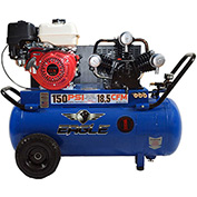 Eagle Gasoline Portable Compressor P90G25H1, 9HP, 25 Gal, 18.5 CFM @ 90 PSI