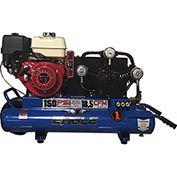 Eagle Gasoline Portable Compressor TT90GE, 9HP, 10 Gal, 18.5 CFM @ 100 PSI