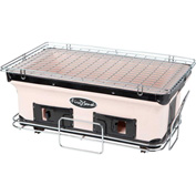 Fire Sense HotSpot Rectangle Yakatori Charcoal BBQ Grill 60450