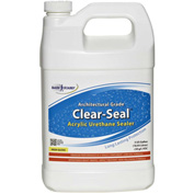 Clear Seal High Gloss Urethane/Acrylic Surface Sealer Gallon Bottle 1/Case - CU-0101