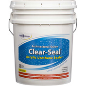 Clear Seal High Gloss Urethane/Acrylic Surface Sealer 5 Gallon Pail 1/Case - CU-0105