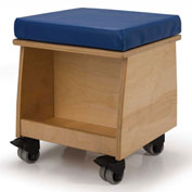 Whitney Brothers Rolling Teacher Stool