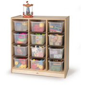 Whitney Brothers 12 Cubby Storage Cabinet