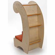 Whitney Brothers Contemporary Reading Chair Bookcase