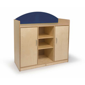 Whitney Brothers Rainbow Sturdy Storage Cabinet Blue