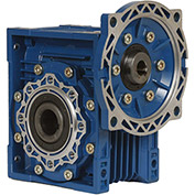 Worldwide Electric CALM40-7.5/1-56C Aluminum Worm Gear Reducer, 40mm, 7.5:1, 56C NEMA Frame