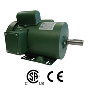 Worldwide Electric FM34-18-56, Farm Duty Motor, 3/4HP, 1800RPM, 56, 115/230V, TEFC