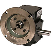 Worldwide HdRF237-50/1-R-56C Cast Iron Right Angle Worm Gear Reducer 50:1 Ratio 56C Frame