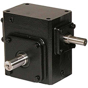 Worldwide HdRS133-20/1-L Cast Iron Right Angle Worm Gear Reducer 20:1 Ratio