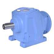 Worldwide Electric WINL67-80/1-56C, Helical Inline Speed Reducer, 56C Input Flange, 80:1 Ratio