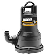 Wayne, VIP25, 1/4 Horsepower Thermoplastic Portable Electric Water Removal Pump