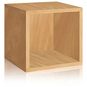 Way Basics Eco Stackable Storage Cube, Natural