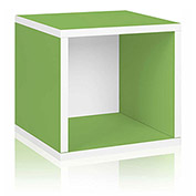 Way Basics Eco Stackable Storage Cube, Green