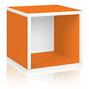Way Basics Eco Stackable Storage Cube, Orange