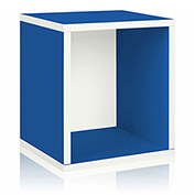 Way Basics Eco Stackable Storage Cube Plus, Blue