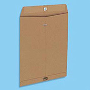 Clasp Envelopes, Natural Brown, Recycled, 9 x 12, 110 Per Box