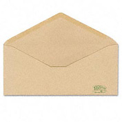 Envirotech Recycled #10 Natural Brown Envelopes, 500/Box